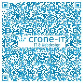 vCard als Qr-Code Crone-IT Hannover